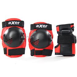 Ochraniacze na nadgarstki, łokcie, kolana ESCORT/LITTLE BLACK Axer