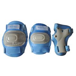 Ochraniacze dzieci�ce na nadgarstki, �okcie, kolana LITTLE BLUE Axer