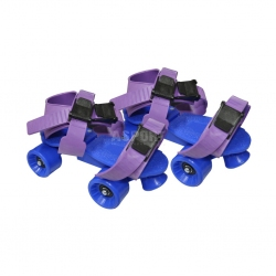 Wrotki dzieci�ce, regulowane A17 niebieskie Axer