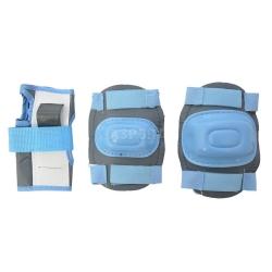Ochraniacze dzieci�ce na nadgarstki, �okcie, kolana BLUE Axer