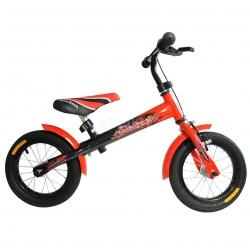 """Rowerek biegowy, dzieci�cy, stalowa rama, ko�a 12"""" SKYRIDER RED"""