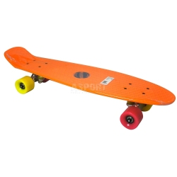 Deskorolka, fishboard 67,5cm ORLANDO ORANGE A1936 Axer