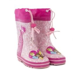 Buty gumowe, kalosze dziecięce, ściągacz cholewki PRINCESS