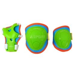 Ochraniacze dzieci�ce na nadgarstki, �okcie, kolana JUNIOR Axer