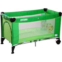 Łóżeczko dziecięce, turystyczne, składane, 0-15kg SIMPLO Caretero
