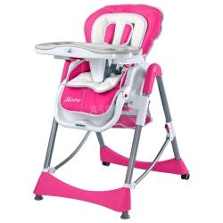 Krzesełko do karmienia BISTRO + koszyk Caretero