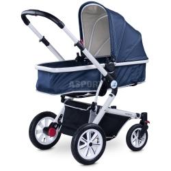 Wózek dziecięcy, wielofunkcyjny, spacerowy, gondola COMPASS Caretero