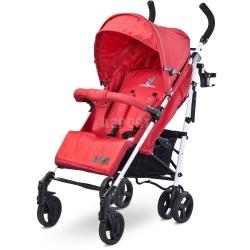 W�zek dzieci�cy, spacerowy, amortyzowany, od 6 miesi�cy JEANS czerwony Caretero