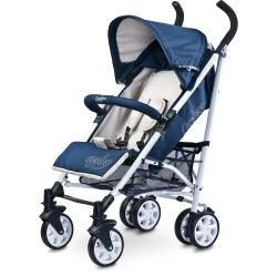 Wózek dziecięcy, spacerowy, amortyzowany, od 6 miesięcy MOBY beżowy Caretero