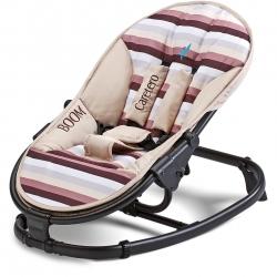 Leżaczek dziecięcy, niemowlęcy do 9 kg BOOM brązowa Caretero