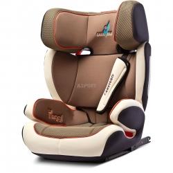 Fotelik samochodowy, dziecięcy 15-36 kg HUGGI ISOFIX beżowy Caretero