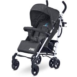 Wózek dziecięcy, spacerowy, amortyzowany, od 6 miesięcy JEANS czarny Caretero