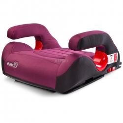 Fotelik samochodowy dziecięcy, booster, poduszka 15-36kg PUMA wiśnia Caretero