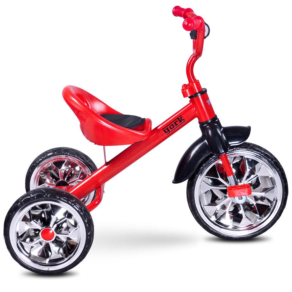 Kinder Dreirad Kinderdreirad Fahrrad mit Metallrahmen Mädchen Junge YORK TOYZ