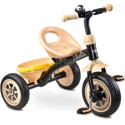 Rowerek dzieci�cy, 3-ko�owy 3-5 lat CHARLIE be�owy Toyz