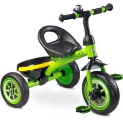 Rowerek dzieci�cy, 3-ko�owy 3-5 lat CHARLIE zielony Toyz