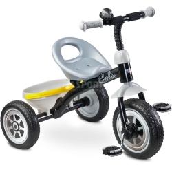 Rowerek dzieci�cy, 3-ko�owy 3-5 lat CHARLIE szary Toyz