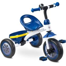 Rowerek dzieci�cy, 3-ko�owy 3-5 lat CHARLIE niebieski Toyz
