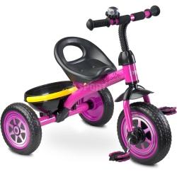 Rowerek dzieci�cy, 3-ko�owy 3-5 lat CHARLIE fioletowy Toyz