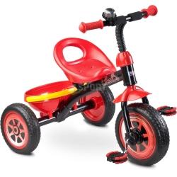 Rowerek dzieci�cy, 3-ko�owy 3-5 lat CHARLIE czerwony Toyz