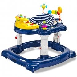 Chodzik dziecięcy 3w1: kołyska + chodzik + pchacz HIPHOP Toyz