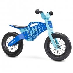 Rowerek biegowy, dziecięcy, drewniany, 3-6 lat ENDURO BLUE Toyz