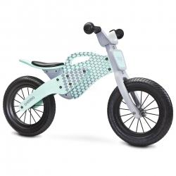 Rowerek biegowy, dziecięcy, drewniany, 3-6 lat ENDURO 2018 MINT Toyz