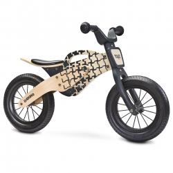 Rowerek biegowy, dziecięcy, drewniany, 3-6 lat ENDURO NATURAL Toyz