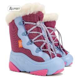 Buty zimowe, śniegowce dziecięce SNOW MAR różowe Demar
