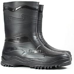 Buty gumowe, kalosze damskie/młodzieżowe YOUNG czarne Demar