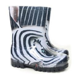 Kalosze dzieci�ce TWISTER PRINT zebra Demar