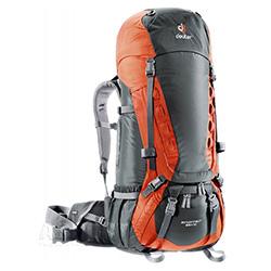 Plecak trekkingowy, wyprawowy AIRCONTACT 55 + 10L 2kolory Deuter