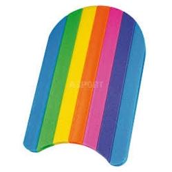 Deska do nauki pływania 48x30 cm RAINBOW Fashy