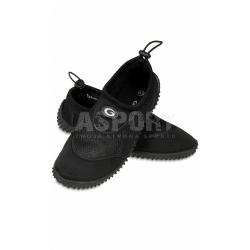 Obuwie plażowe, buty do wody męskie GWINNER czarne