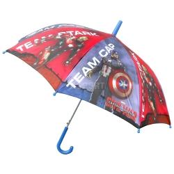 Parasol dziecięcy, automatyczny 78 cm KAPITAN AMERYKA