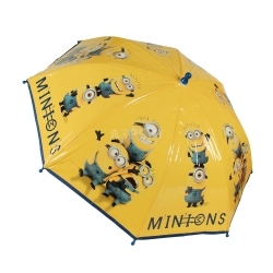 Parasol dziecięcy, manualny 74cm MINIONKI