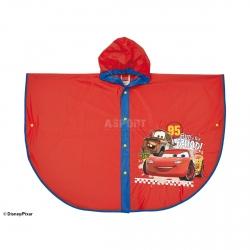 Ponczo, peleryna przeciwdeszczowa dla dzieci CARS - AUTA