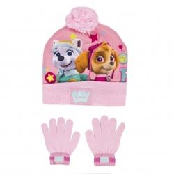 Komplet dziecięcy: czapka + rękawiczki PSI PATROL