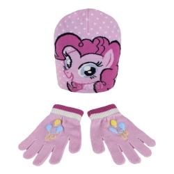 Komplet dziecięcy: czapka + rękawiczki MY LITTLE PONY