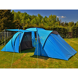 Namiot biwakowy, 4-osobowy, 2 sypialnie COMO 4 High Peak