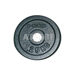 Obciążenie żeliwne, talerz z uchwytem HAMMERTONE 1,25 kg HMS