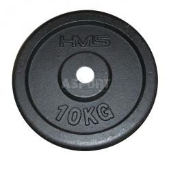 Obciążenie żeliwne, talerz 10kg HMS