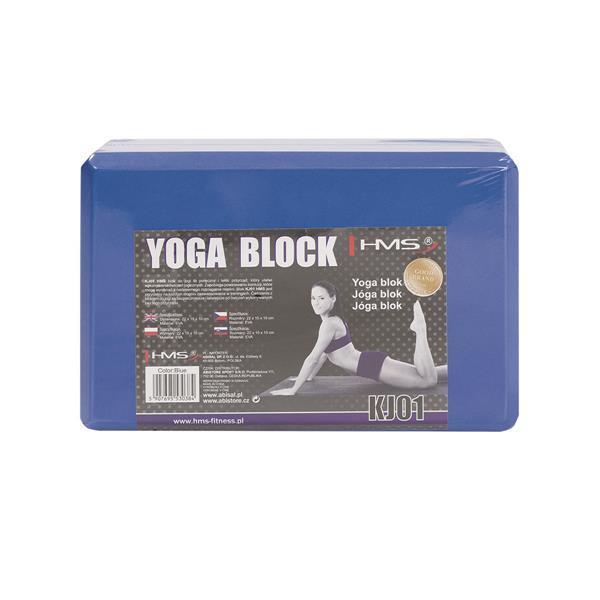 HMS Yogablock Schaumstoff Joga Block Fitness Sport Klotz Yogablöcke Pilates