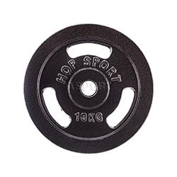 Obciążenie żeliwne, talerz 10kg Hop-Sport