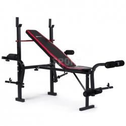 Ławka pod sztangę, rozpiętki, dźwignia do treningu mięśni nóg HS-1055 Hop-Sport