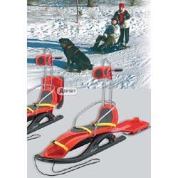 Sanki, saneczki SNOW COMFORT czerwone KHW