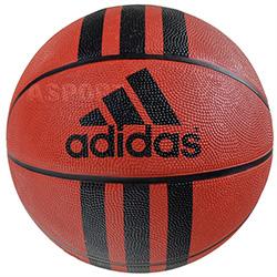 Piłka do kosza, do gry rekreacyjnej 3 STRIPES RUBBER D Adidas