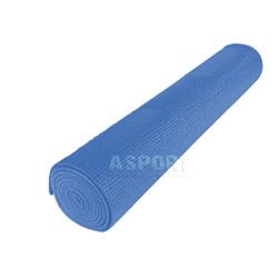 Mata do jogi, do ćwiczeń 180x60x0,5 cm niebieska Meteor