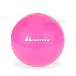 Piłka do pilates, do ćwiczeń 18 cm różowa Meteor