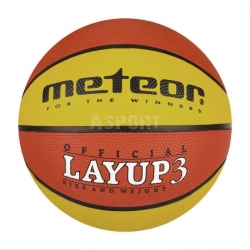 Piłka do kosza LAYUP 3 Meteor